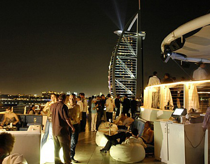 Dubai Nightlife Evening Dubai Palm Rentals
